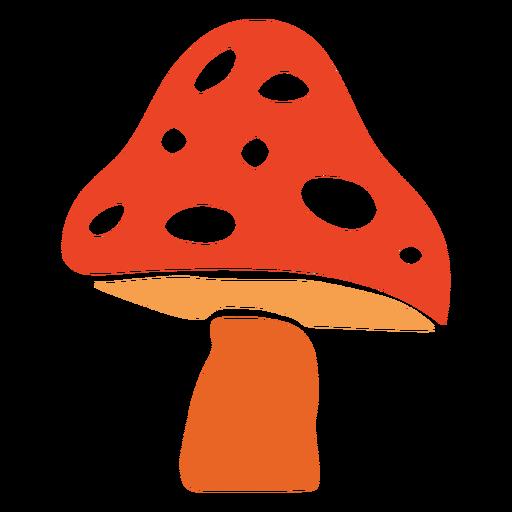 Mushroom plant cut out