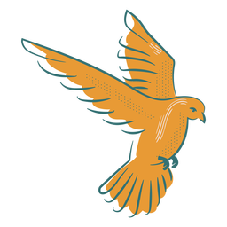 Insignia del símbolo de la paloma de la paz