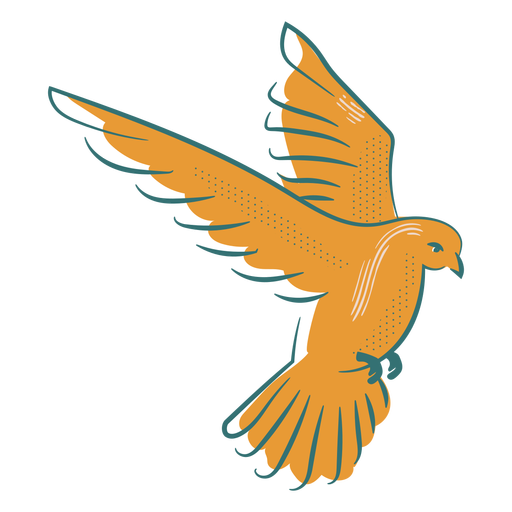 Insignia del símbolo de la paloma de la paz Transparent PNG