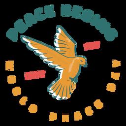 La paz comienza con tu insignia