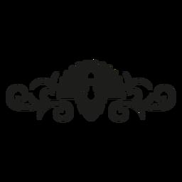 Diseño de encaje de pavo real
