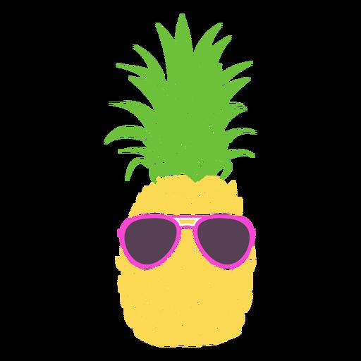 Ananas Silhouette Sonnenbrille