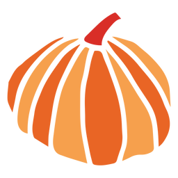 Pumpkin cut out design