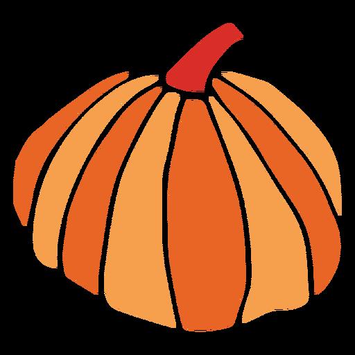Pumpkin cut out design