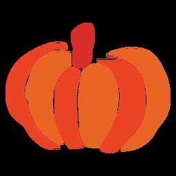 Pumpkin vegetable cut out