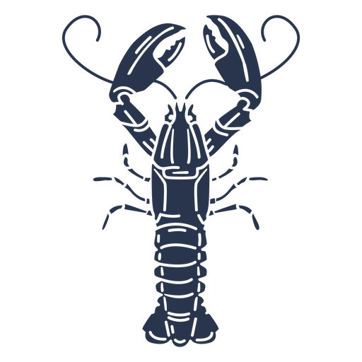 Silhouette lobster animal Transparent PNG