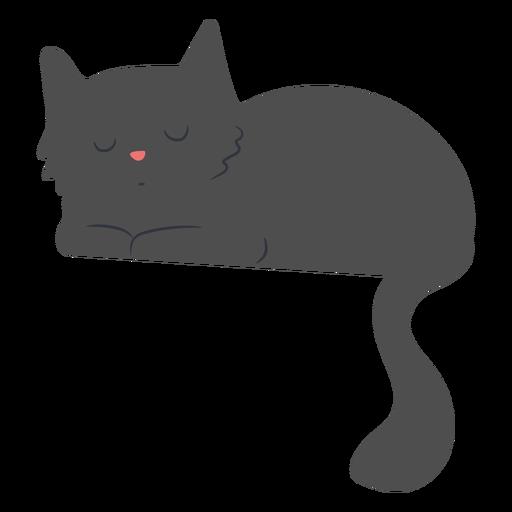 Piso gato soñoliento Transparent PNG