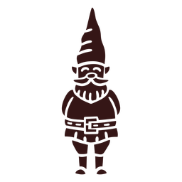 Smiling gnome cap