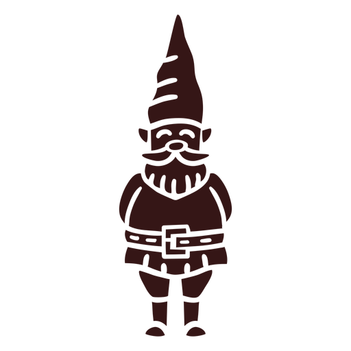 Smiling gnome cap Transparent PNG