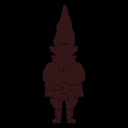 Smiling gnome cap