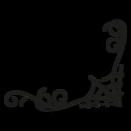 Aranha web laço design de halloween