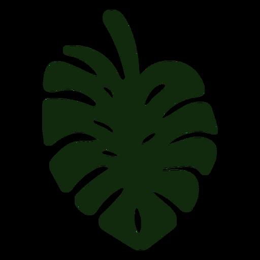 Split leaf plant hand drawn