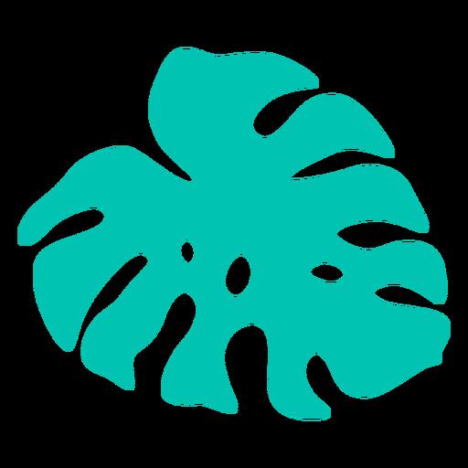 Split leaf tropical type