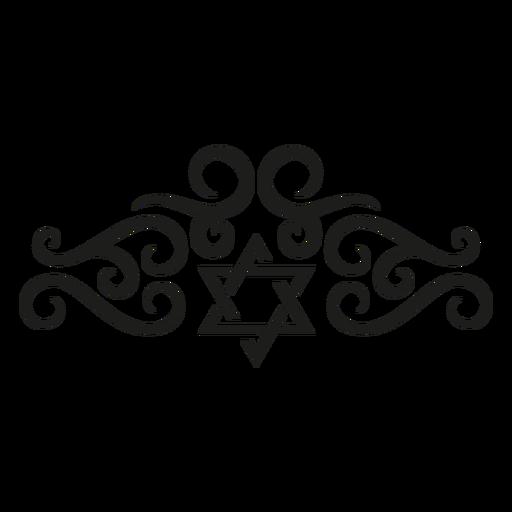 Star flourish lace pattern