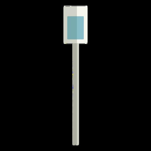 Street sign column flat