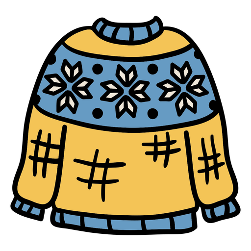 Sweater hand drawn clothing Transparent PNG