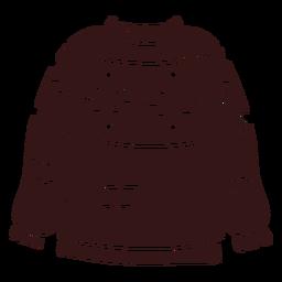 Diseño de ropa de invierno suéter