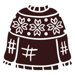 Sweater winter clothing design