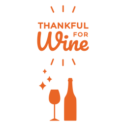 Thanful for wine bag design