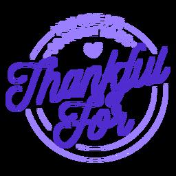 Agradecido por los sentimientos de letras