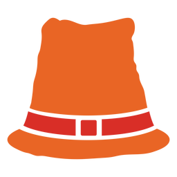 Thanksigiving hat traditional element cut out