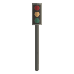 Traffic light flat design