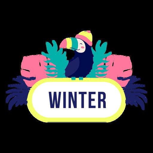 Marco de selva de t?tulo de invierno