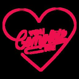 Me completas letras de corazón