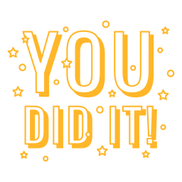 You did it festive quote