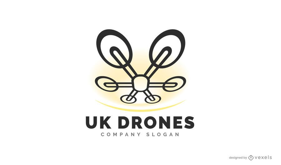 UK Drohne Logo Design