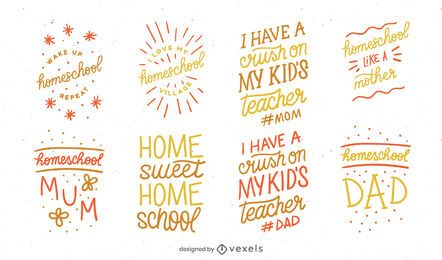 Homeschool Lettering Design Pack