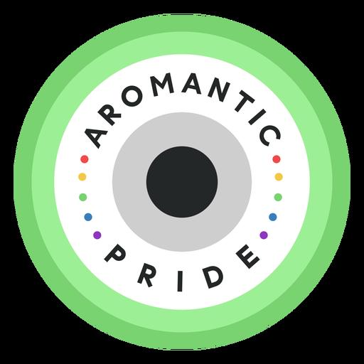 Distintivo de orgulho aromático Transparent PNG