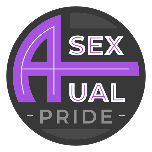 Asexual pride badge
