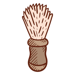 Barber brush illustration