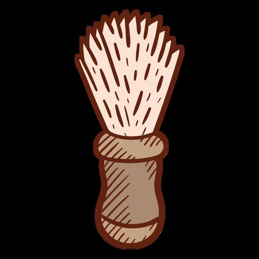 Barber brush illustration Transparent PNG