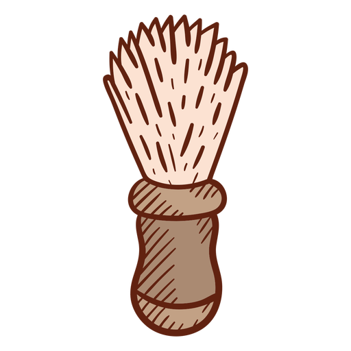 Barber brush illustration