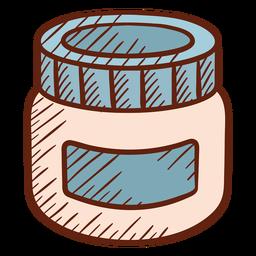 Ilustração de loção de barbearia