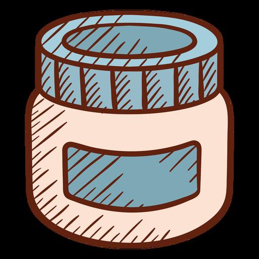 Barbershop lotion illustration