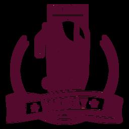 Insignia del logotipo de la afeitadora Barbery