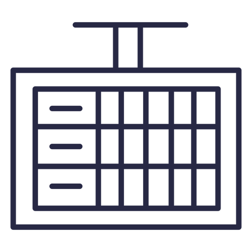 Icono de pantalla de puntuación de bolos