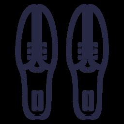 Ícone de sapatos de boliche