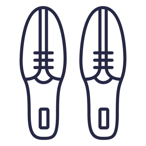 Bowling shoes icon