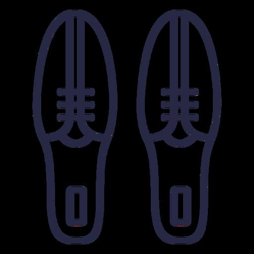 Icono de zapatos de bolos Transparent PNG