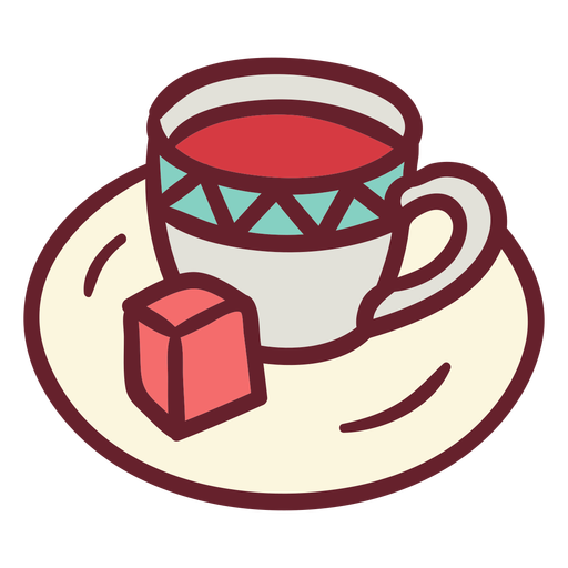 Cup of coffe flat