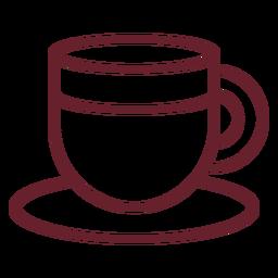 Curso de xícara de café