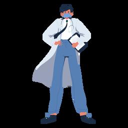 Doctor hero personaje