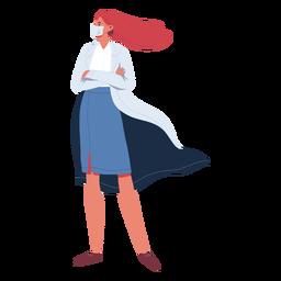 Doctor heroína personaje
