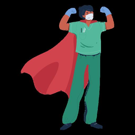 Doctor con carácter de capa