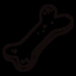 Doodle de galleta de perro