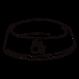 Dog bowl doodle